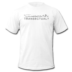 Is Your City Transectual? Men's American Apparel Tee Short Sleeve | Black Graphic $26.99 Every urbanist should have one of these!~