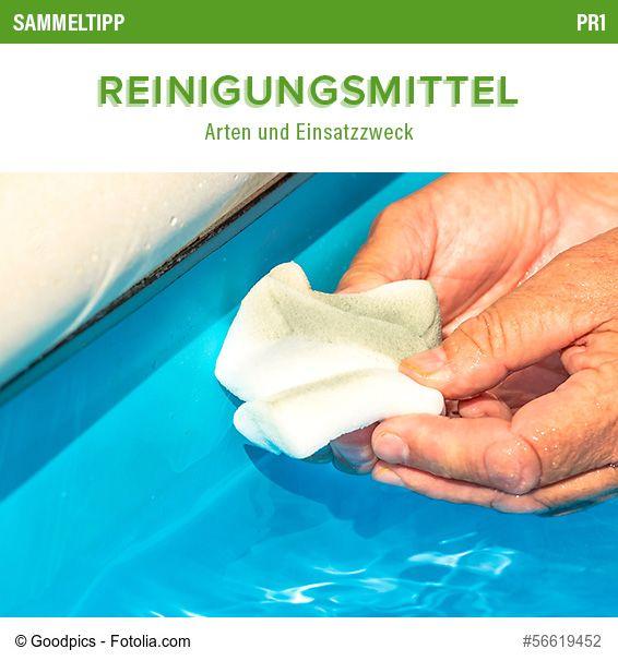 POOLSANA Sammeltipp Nr. 23: Reinigungsmittel - Arten und Einsatzzweck #pool #reinigung #putzen #tipps
