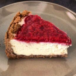 Gluten free, dairy free cheesecake