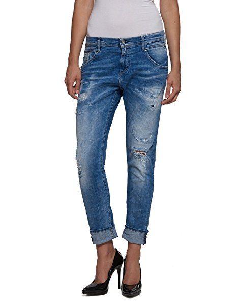Damen Boyfriend Replay Denim 9W25l30 Jeans DeniceBlaublue T135FlJcKu