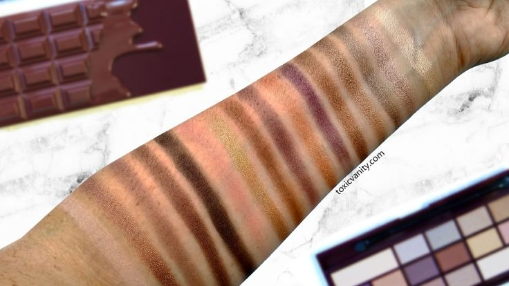 Death by Chocolate I Heart Makeup Review and Swatches