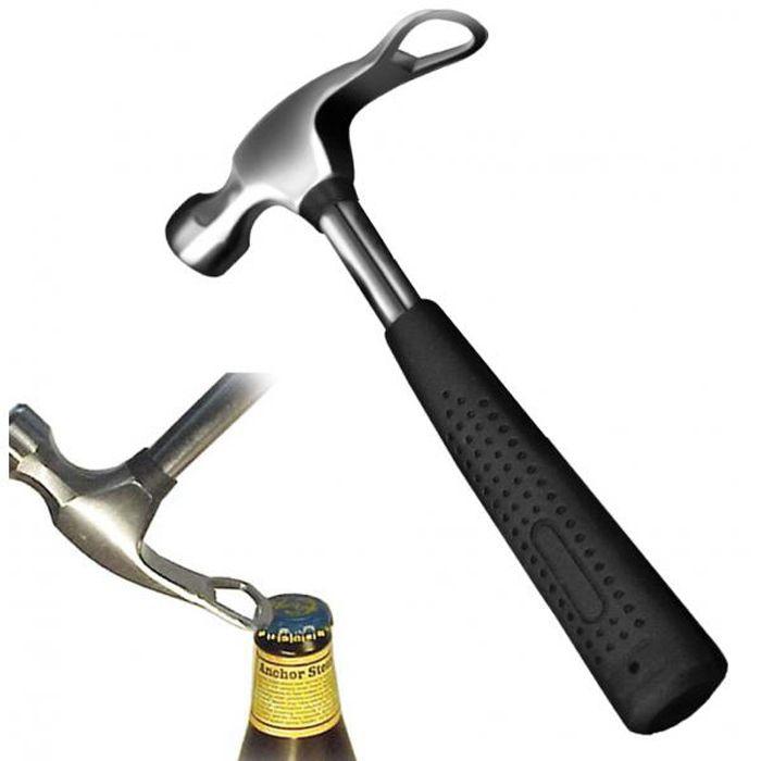 Beer Hammer Bottle Opener & Ice Crusher | drinks diy open crush tool pool | Yellow Octopus