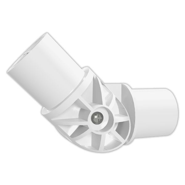 1-1/4 in. Adjustable PVC Elbow Furniture Grade PVC Fitting  ....FORMUFIT.COM