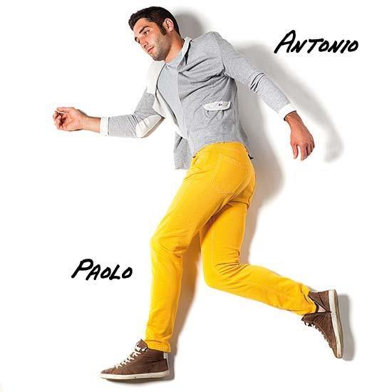 ANTONIO #Giacca #Smoking #uomo montata a #denim. Tessuto in #felpa tinta secondo le tecniche del denim o nel più elegante jersey doppiato. Disponibile nel #tessuto esclusivo #PRAIO doppiato traforato super!        PAOLO  Pantalone montato e trattato secondo le tecniche del denim.  Brevetto PRAIO attivo su questo #modello. #moda #fashion #man