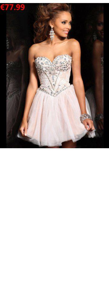A-Linie aus Tüll Herz-Ausschnitt Ärmellos Reißverschluss Perlen Rose Apart Ballkleider/Abschlusskleider kurz                                 Specifications                                              ÄRMELLÄNGE          Ärmellos                                  AUSSCHNITT          Herz-AUSSCHNITT                                  RÜCKEN          Reißverschluss                                   SAU#hochzeitskleider#hannover#rostig#couturedress#biancoevento#abschlusskleider