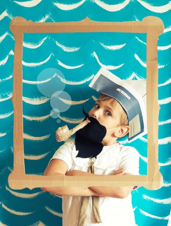 Photobooth DIY pour un anniversaire enfant theme pirate !