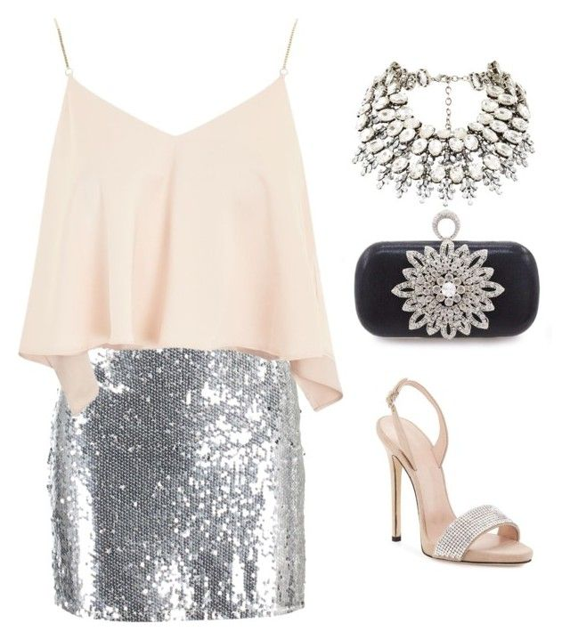 """""""Nite out"""" by charlene-subbarayan on Polyvore featuring Boohoo and Topshop"""