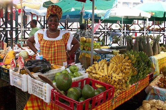 marché de Pointe-à-Pitre, Guadeloupe #guadeloupe #tropical #market