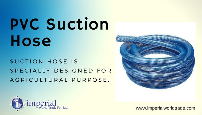 PVC Suction Hose!  Suction hose is specially designed for agricultural purpose.