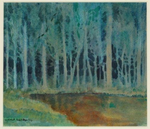 Josef Váchal - Virgin forest #painting #Czechia #art