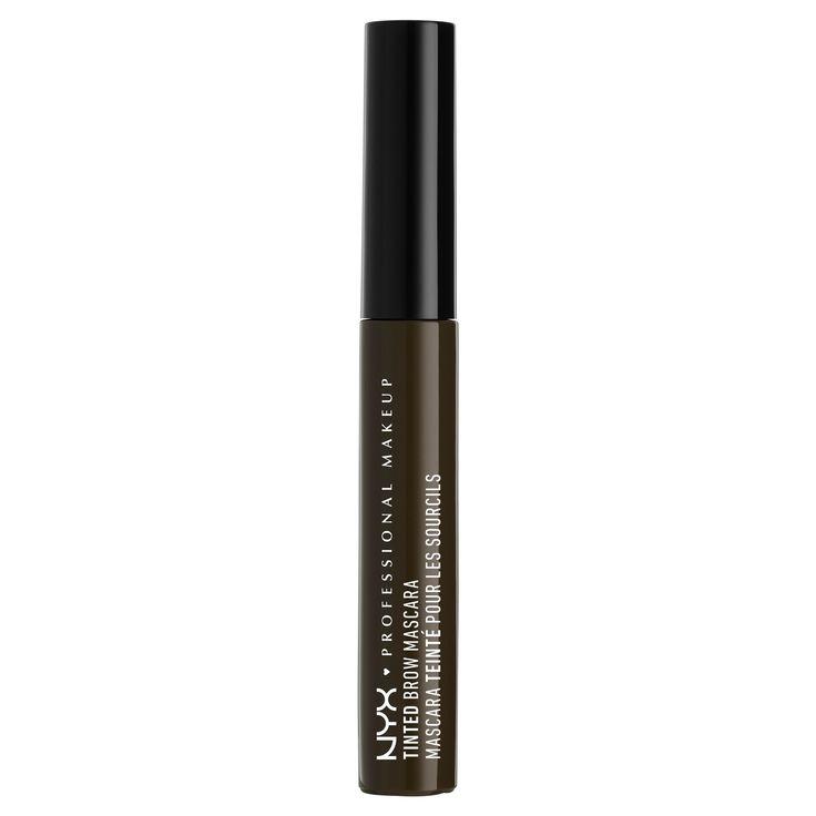 Nyx Professional Makeup Tinted Brow Mascara Black - 0.22oz