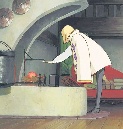 Howls moving castle! I've been wanting to watch it again lately...