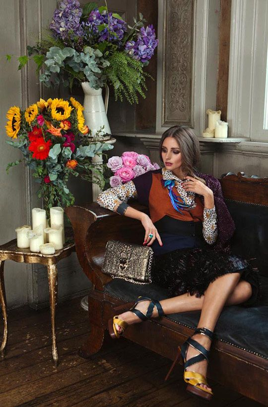 Editorial Love: Olivia Palermo in Velvet Magazine | Crazy Style Love