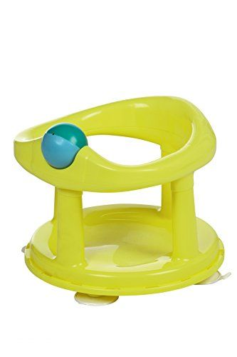 Safety 1st Swivel Bath Seat - Lime Safety 1st Swivel Bath Seat allows your baby to sit in the bath whilst you wash them. The 4 suction pads along with the 360 Degree Swivel allow you to have both hands fre (Barcode EAN = 3220660257928) http://www.comparestoreprices.co.uk/december-2016-3/safety-1st-swivel-bath-seat--lime.asp