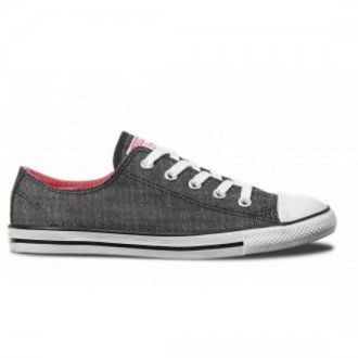 Converse CT Dainty Ox Shoes Black Carnival Pink