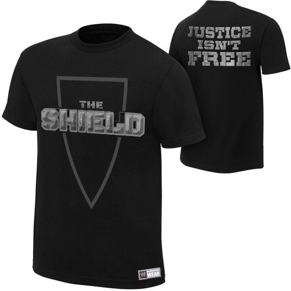 The Shield ❤ liked on Polyvore featuring the shield, wwe, shirts and t-shirts