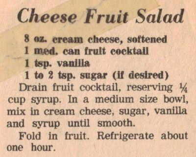 recipe: fruit cocktail salad recipes [19]