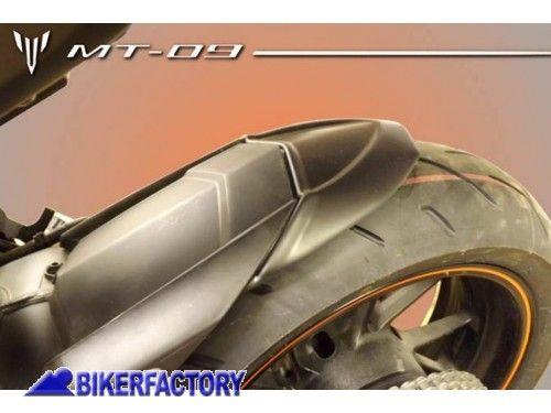 Estensione Parafango posteriore PYRAMID colore nero specifico per YAMAHA MT-09 e MT-09 TRACER