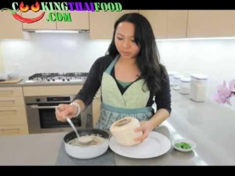 Thai Recipes Thai Coconut Chicken Soup - How to Make Tom Kha Gai Video or Tom Kha Kai