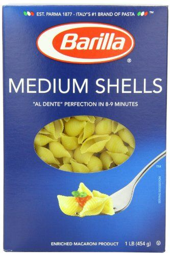 Barilla Pasta Medium Shells 16 Ounce ** Find out more about the great product at the image link. (Note:Amazon affiliate link)