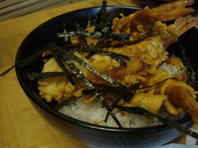 Tempura Don, Salah satu menu makanan Jepang untuk yang tidak suka kehilangan Nasi dalam tiap waktu makan :)