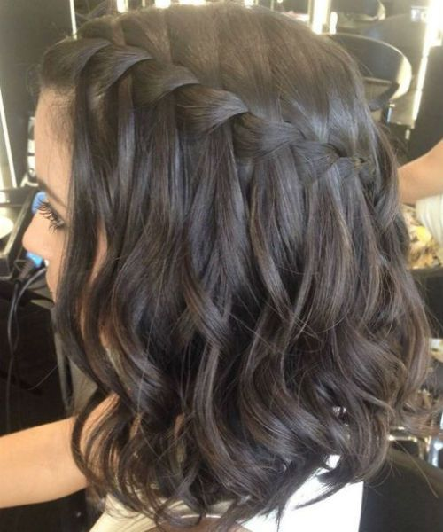 Fantastic Waterfall Braids for Medium Hair 2019 for Women to Rock This Year