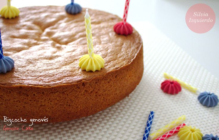 Bizcocho genovés - Genoise Cake