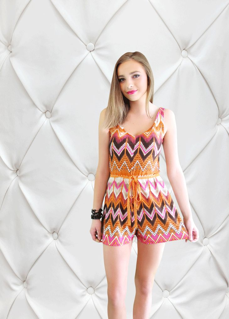 The Dolly Aztec Playsuit