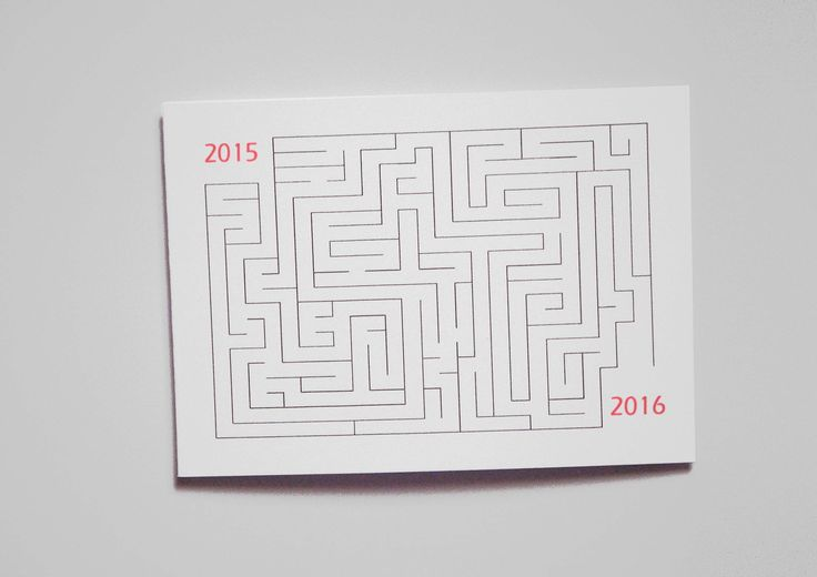 Carte de voeux nouvel an 2016 : Cartes par miska-creations