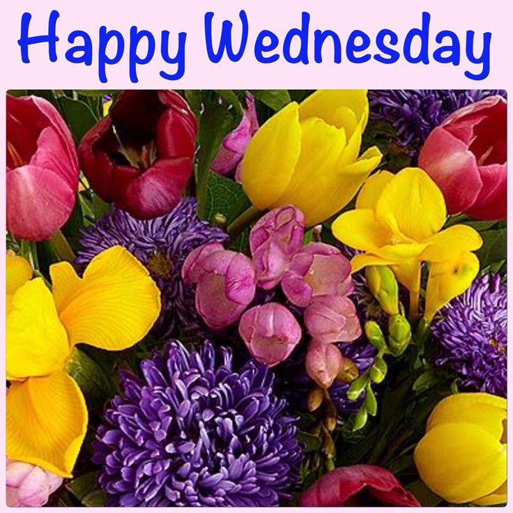 Bildergebnis für Wednesday with Spring flowers
