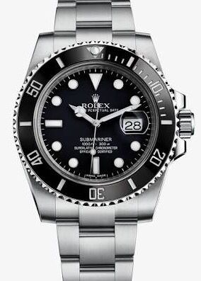 Black Sub with Date. Ref 116610 LN
