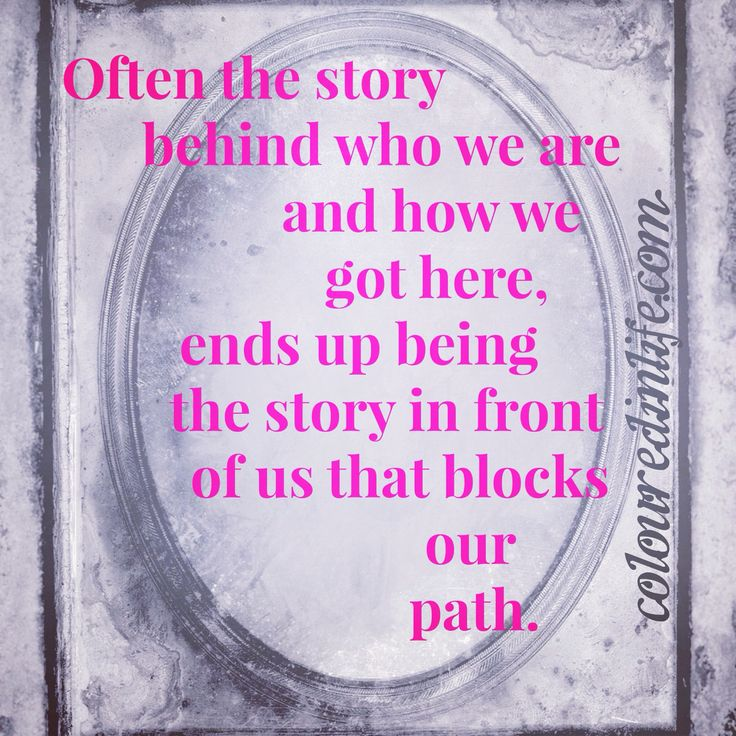 What is blocking your path?