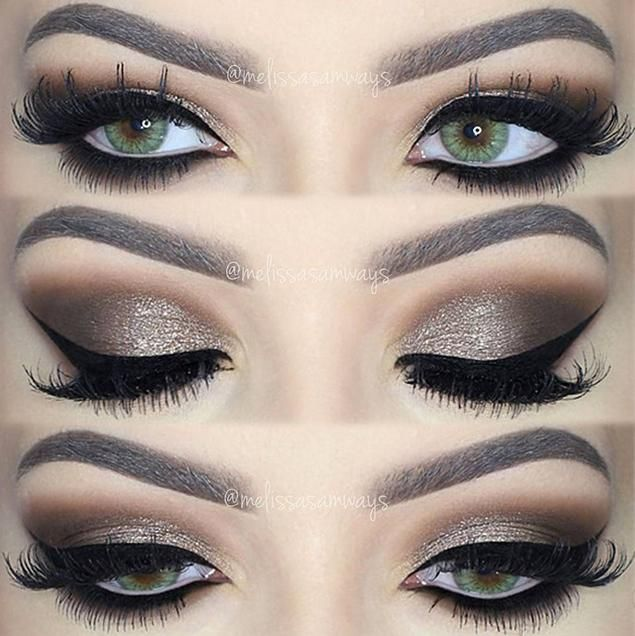 smokey eye makeup - Google Search