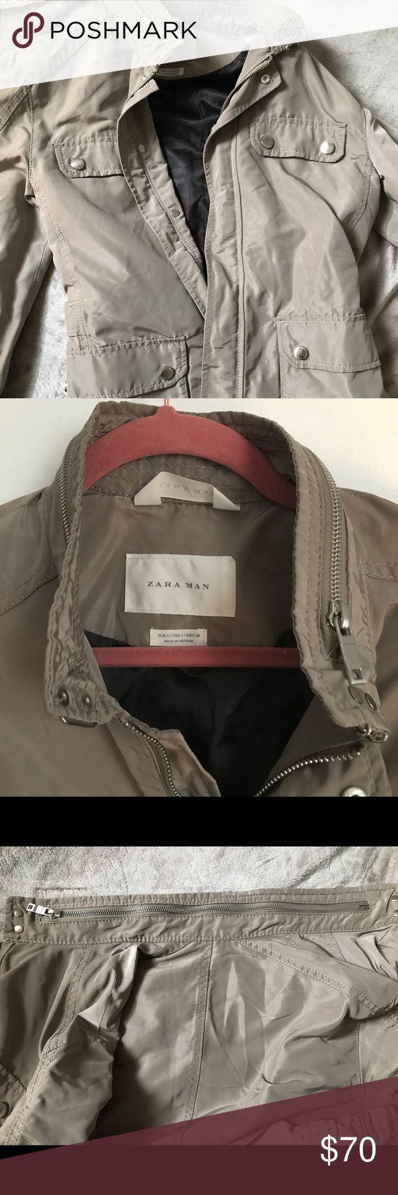 WEEKEND SALE🔥ZARA MAN 🎉HOST PICK💥⚡️🔥‼️ Perfect condition Zara Man jacket. Sleek look. Perfect for fall. Zara Jackets & Coats