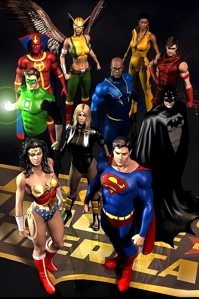 Team avengers vs team justice league of American which side are u on