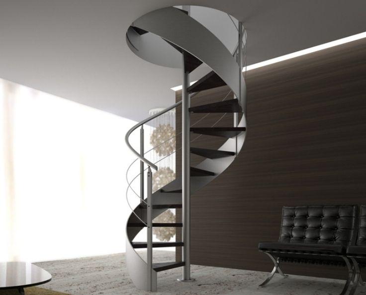 17 migliori idee su gradini di legno su pinterest scale - Gradini per scale a chiocciola ...