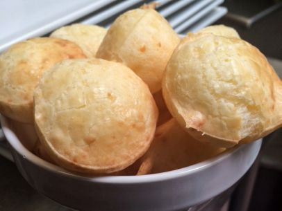Pao De Queijo (Brazilian Cheese Bread) Recipe : Food Network