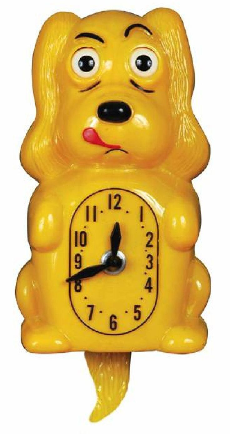 Pooch Clocker Spaniel Yellow Wall Clock
