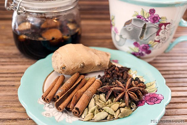 Chaisirup til te eller kaffe   Millas Mat