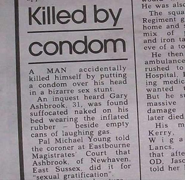 Funny Headlines of Newspapers