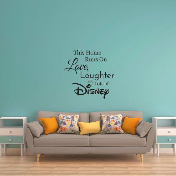 Wandtattoo Disney Disney Wandaufkleber Familie Wandtattoo