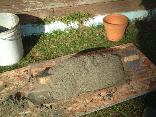 gef lschte boulders wie felsen machen tolles aus beton pinterest felsen wasserspiele und. Black Bedroom Furniture Sets. Home Design Ideas