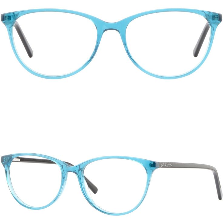 Cateye Womens Eyeglasses Plastic Frames Spring Hinges Prescription Glasses Green