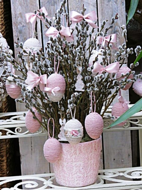 45 Festive Indoor Easter Decoration Ideas And Projects Hercottage Spring Easter Decor Diy Easter Decorations Easter Tree Decorations