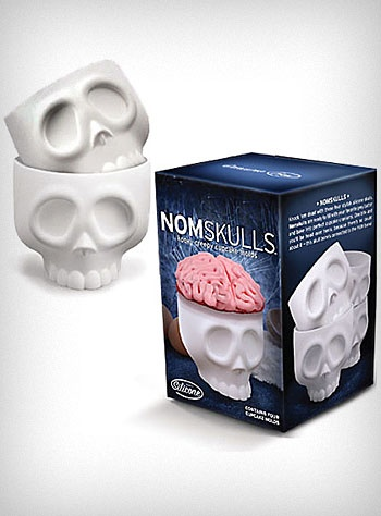 NomSkulls Silicone Cupcake Cups  @kim Dittrich   heehee: Halloween Parties, Skull Cupcakes, Silicone Cupcakes, Cupcakes Moldings, Cupcakes Holders, Cupcakes Cups, Cupcakes Love, Cupcakes Rosa-Choqu, Baking Cups