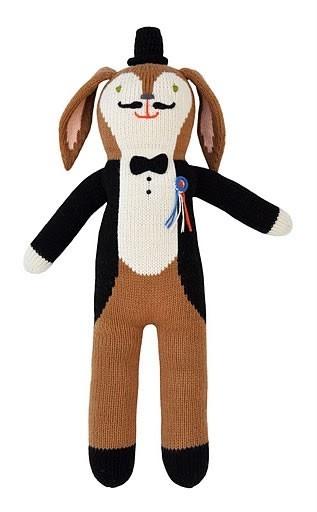 Who better to invite to a tea party than Balthazar Tuxedo Bunny! Love Bla Bla dolls!