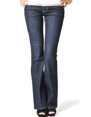 $5 Indigo Flared Jeans Indigo