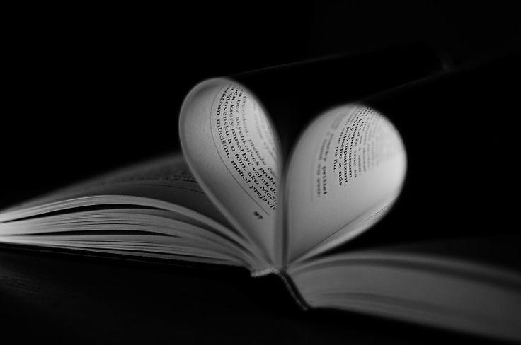 #love #blackandwhite #book #pinit