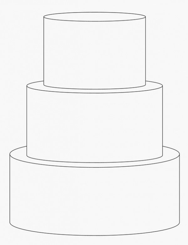 4 inch tiers: 6, 8, 10