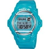 http://www.cheapgshockwatches.net - Review Casio G-shock BG169R-2B-CR Baby-G-Whale With Vivid Color Blue Watch Womens | Cheap G Shock Watches